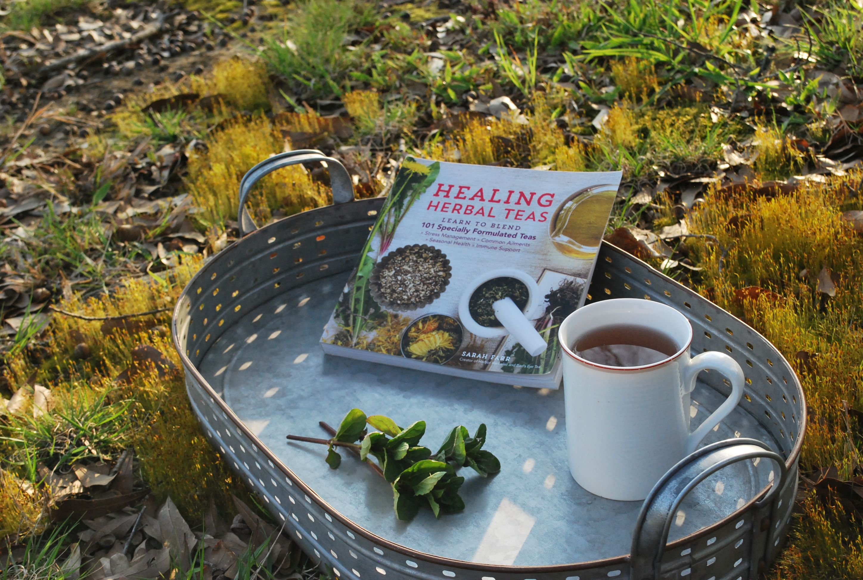 Healing Herbal Teas Book