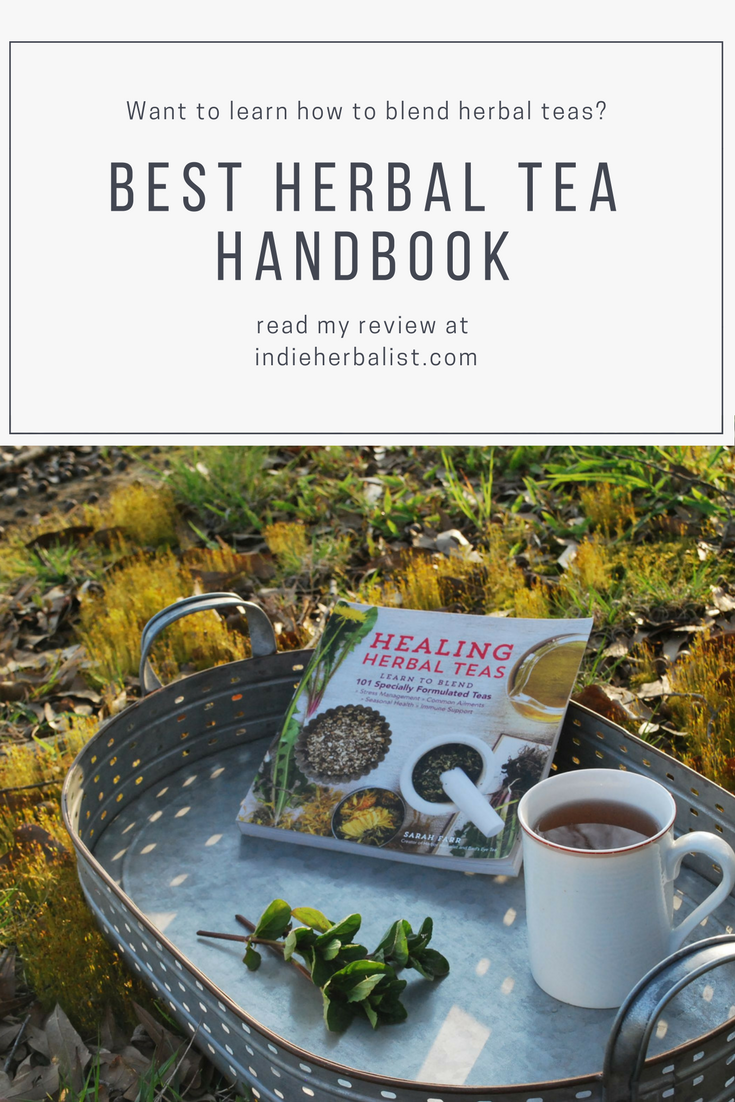 Pin for Healing Herbal Teas Book Review