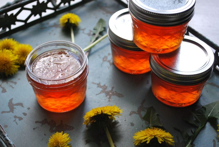 Celebrate spring with homemade dandelion jelly