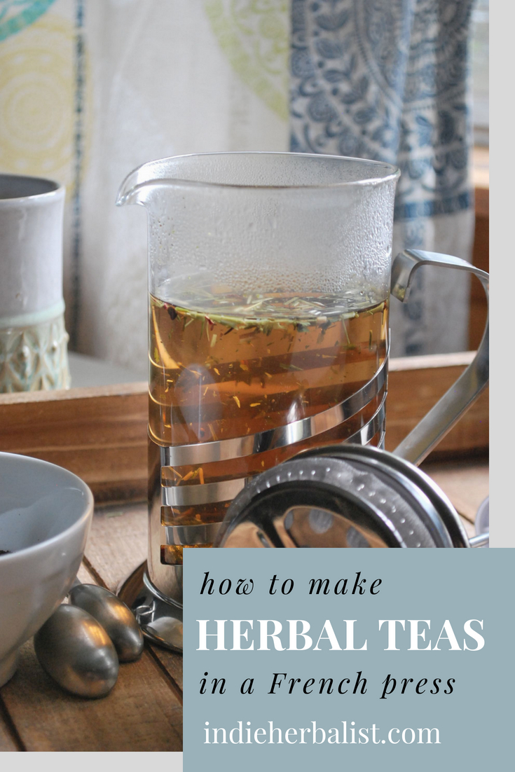 How to Use a French Press to Make Herbal Tea