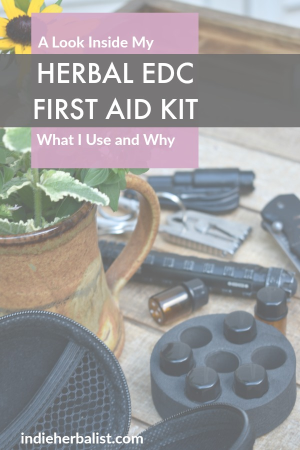Contents of an herbal everyday carry kit